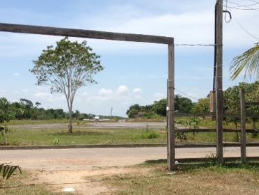 Airplane in the community of Urucara