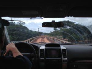 one of the many, many, many wooden bridges we crossed